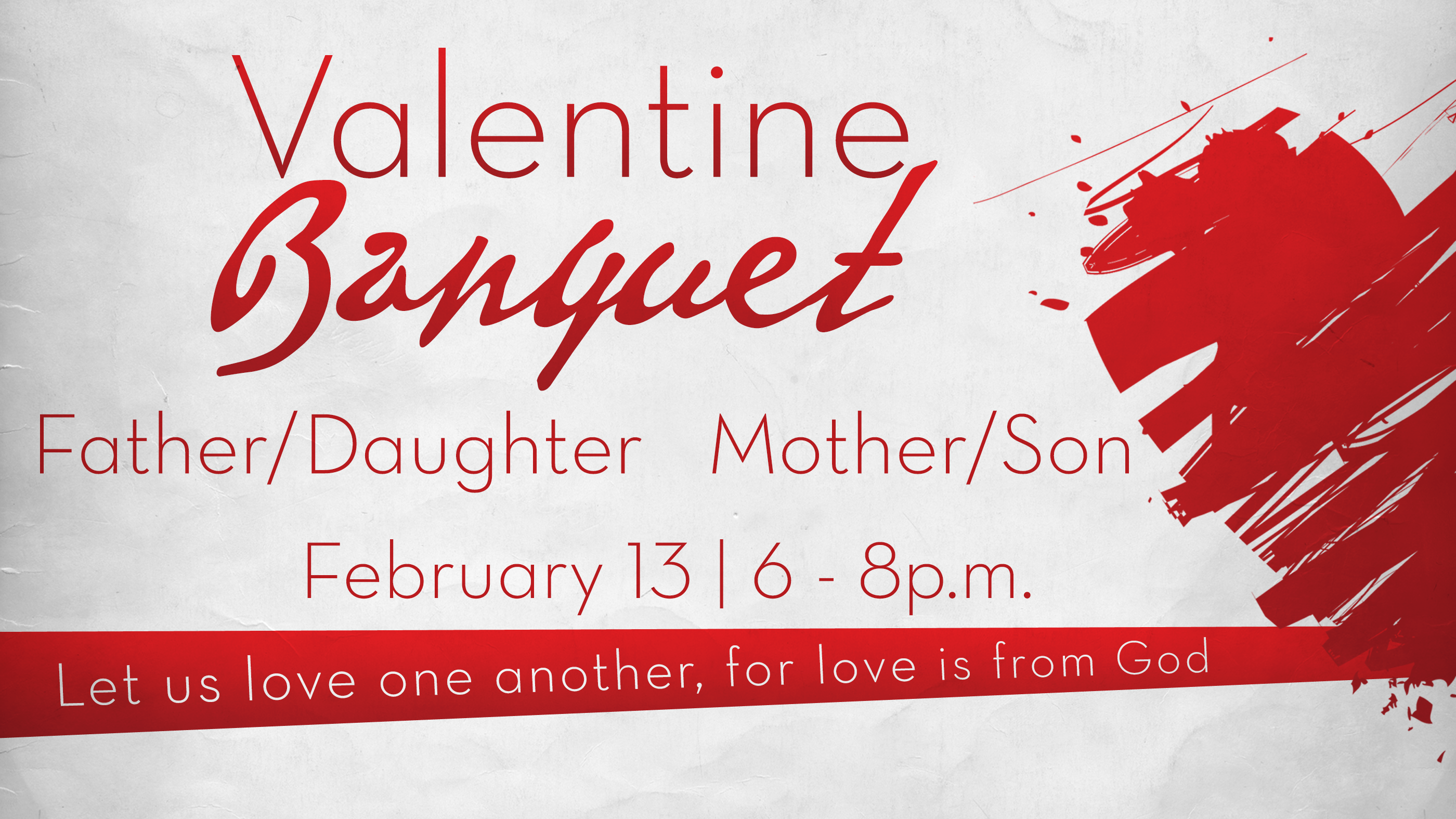 Valentine Father/Daughter, Mother/Son Banquet U2013 Maplewood First Baptist  Church
